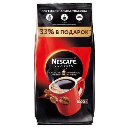 Кофе растворимый Nescafe classic пакет 1000 г