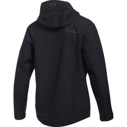 Куртка Under Armour Turf & Tide Rain Full Zip Hooded, 001 черная, SM