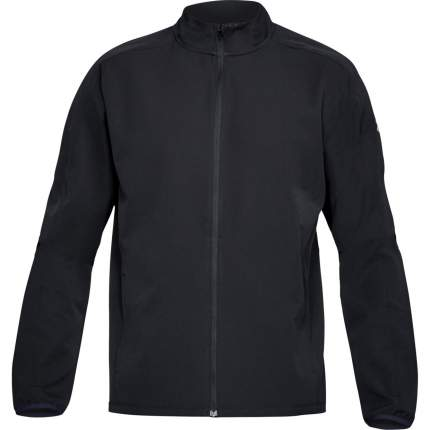 Куртка Under Armour Storm Launch Run Full Zip, 001 черная, SM