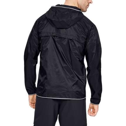 Куртка Under Armour Qualifier Storm Packable Full Zip Hooded, 001 черная, LG