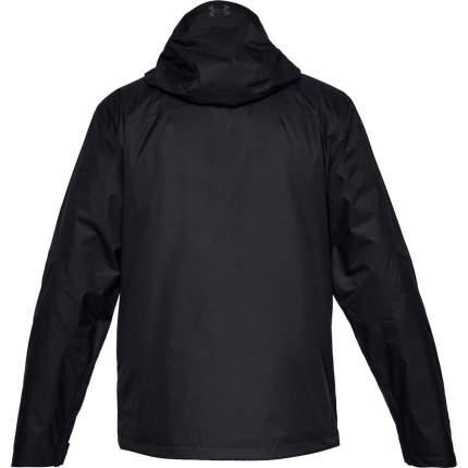 Куртка Under Armour Prime 3 in 1 Wind 10K Full Zip Hooded, 001 черная, SM