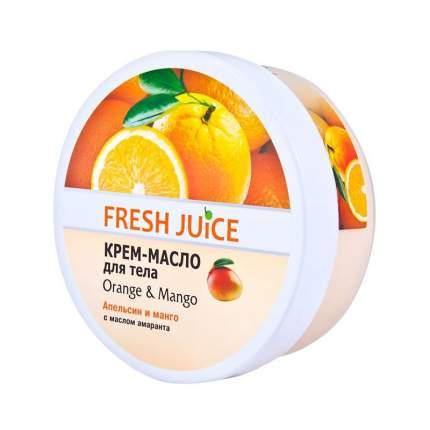 Сахарный скраб для тела Fresh Juice Orange & Mango, 225 мл