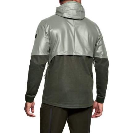 Куртка Under Armour Hybrid Windbreaker Hooded FZ, 492 зеленая, SM
