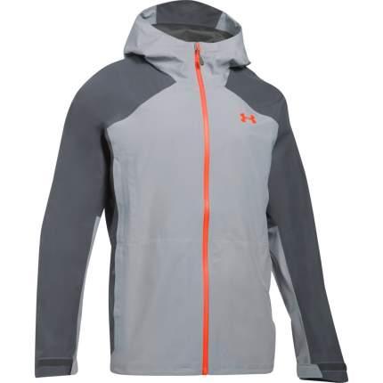 Куртка Under Armour Hurakan Gore-tex Paclite Outdoor Full Zip Hooded, 941 серая, SM