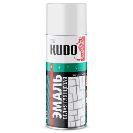 Эмаль универсальная АВТОМАГ белая глянцевая KU1001