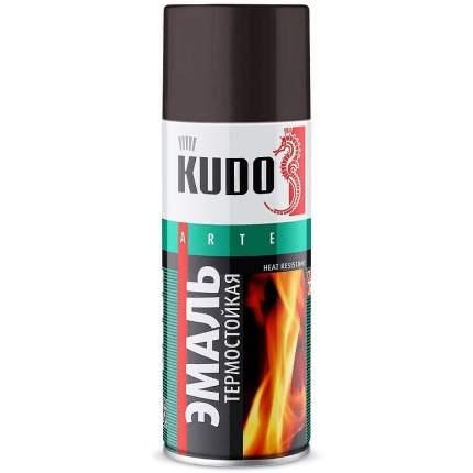Эмаль термостойкая АВТОМАГ KU5002 черная 520 мл
