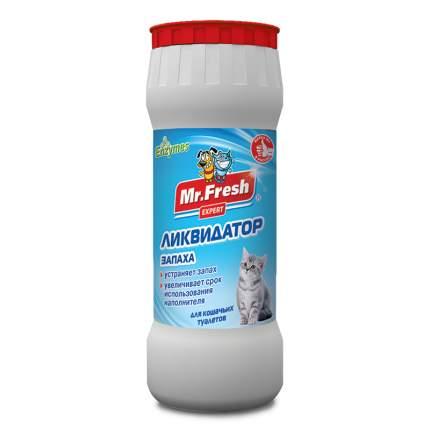 Ликвидатор запаха для кошачьих туалетов Mr.Fresh Expert 2в1, порошок, 500г