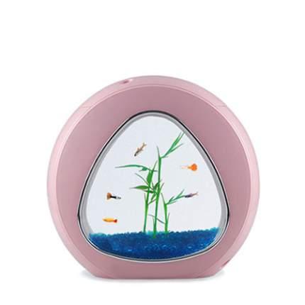 Мини-аквариум для рыб Sensen YA-01P, розовый, 4 л