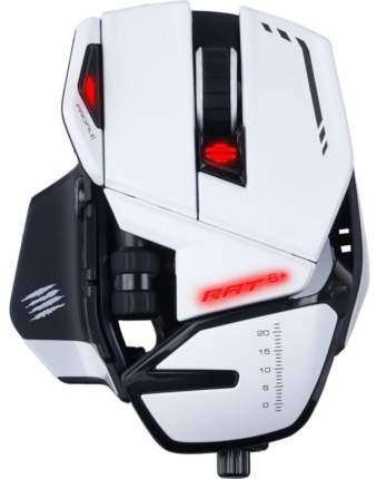 Игровая мышь Mad Catz R.A.T. 6+ (White)
