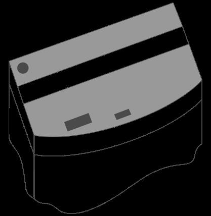Комплект пластиковых крышек Juwel для аквариума Vision 450, черные, 150х61 см, 2шт