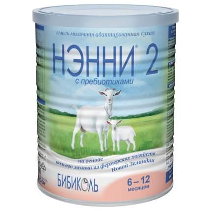 Смесь на козьем молоке Бибколь Нэнни 2 от 6 до 12 мес. 400 г