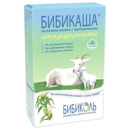 Каша молочная Бибиколь Кукурузная на козьем молоке с 5 мес. 200 г