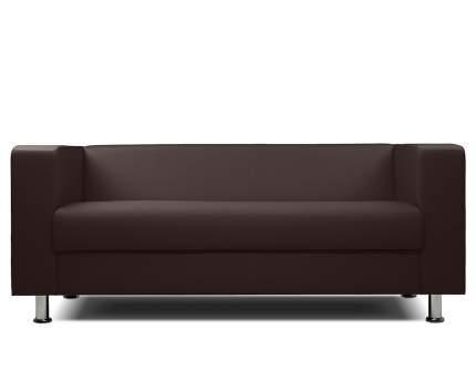Диван офисный трехместный Шарм-Дизайн Бит-3х коричневый