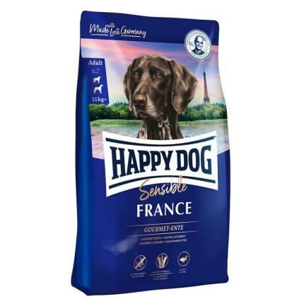 Сухой корм для собак Happy Dog Supreme Sensible France, с мясом утки и картофелем, 1кг