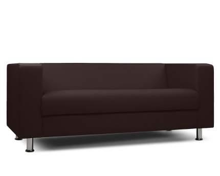 Диван офисный Шарм-Дизайн 3-х местный БИТ экокожа коричневый
