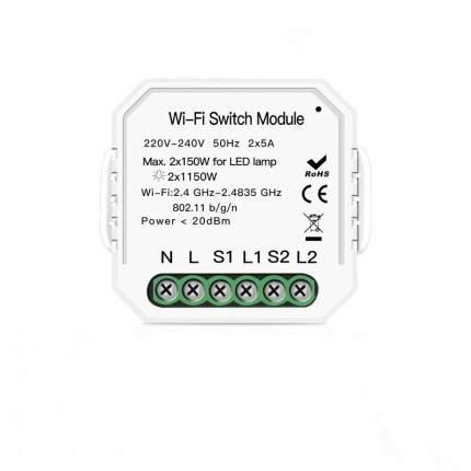 Умный двухпозиционный WiFi переключатель / Wi-Fi Switch Module, 4184