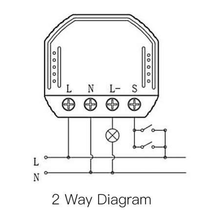 Умный Wi-Fi переключатель / Wi-Fi Dimmer D01, 4183