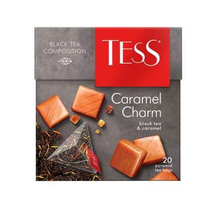 Чай черный в пирамидках Tess Caramel Charm 20 пакетиков
