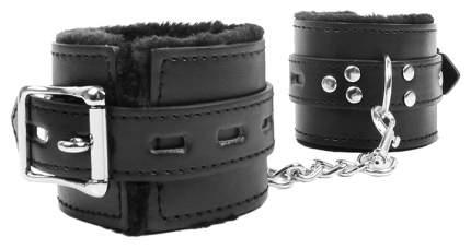 Черные наручники на металлических карабинах Bior toys