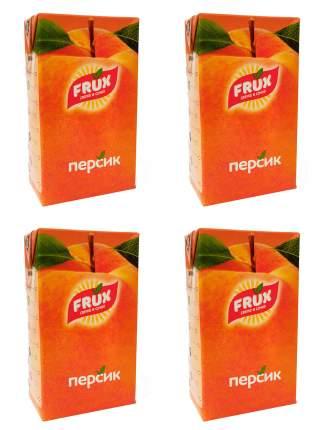Сокосодержащий напиток Frux персик 4*1000 мл