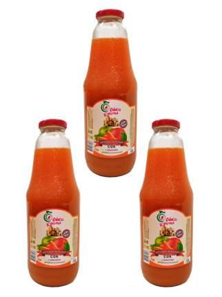 Сок Соки Крыма морковно-яблочный 3*1000 мл