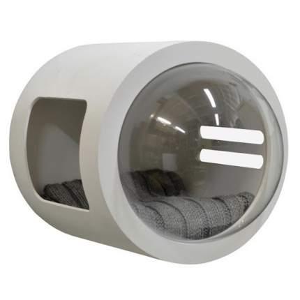 Домик для кошек PetsApartments капсула, настенный, белый, M, 50х37х37 см