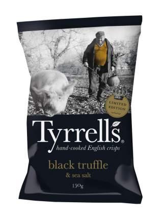 Чипсы картофельные TYRRELLS  со вкусом черного трюфеля и морской солью 150г