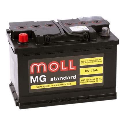 Аккумулятор MOLL MG 75L 614