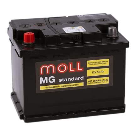 Аккумулятор MOLL MG 55L 604