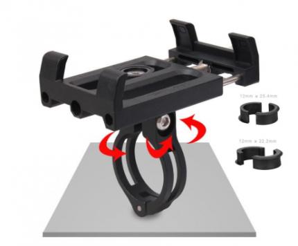 Велосипедный держатель для смартфона GUB Plus 3