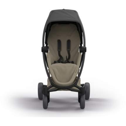 Прогулочная коляска Quinny Zapp Flex Plus Black on Sand Чёрно-кремовый