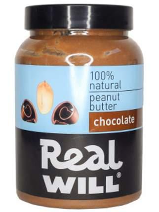 Паста арахисовая Real Will с шоколадом 1000 г