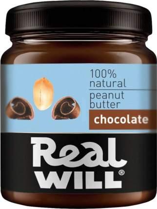 Паста арахисовая Real Will с шоколадом 330 г
