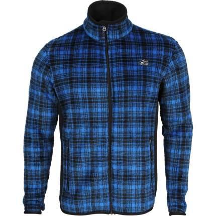 Куртка Cell Polartec High-Loft синяя клетка 40-42/158-164