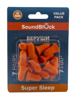 Беруши Soundblock Value Pack ( Пенные беруши), 7 пар в упаковке/2622-004