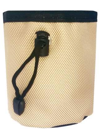 Сумка для лакомств Монморанси Дрессировщик мини, бежевый, 10х8х5 см