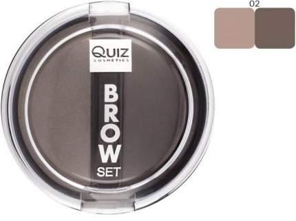 тени для бровей set 02 Quiz