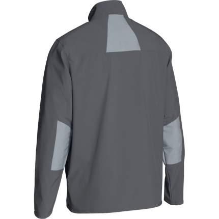 Куртка Under Armour Charger Warm Up Woven Full Zip, 040 серая, XL