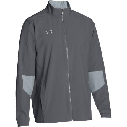 Куртка Under Armour Charger Warm Up Woven Full Zip, 040 серая, MD