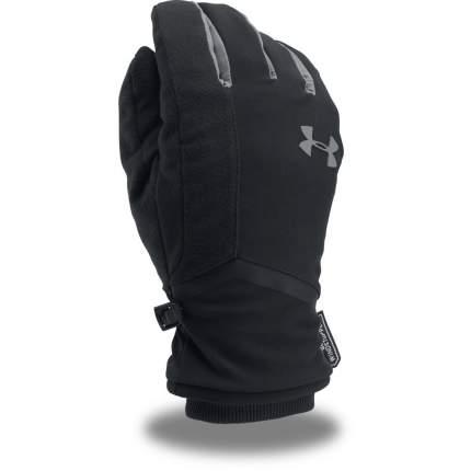 Мужские перчатки Under Armour Storm Windstopper 2.0 1300147-001, черный, MD (18,4-19,1)