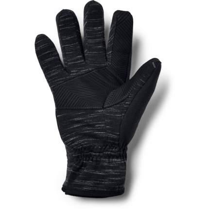 Мужские перчатки Under Armour Storm Fleece 1321239-001 2019, черный, LG (19,1-19,7)