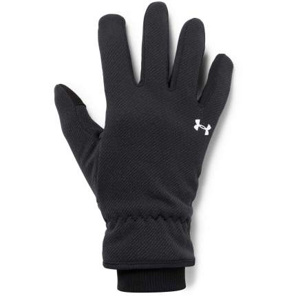 Женские перчатки Under Armour Storm Fleece 1318469-001 2019, черный, MD (16,5-17,2)