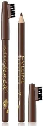 Контурный карандаш для бровей Eveline Eyebrow Pencil Brown