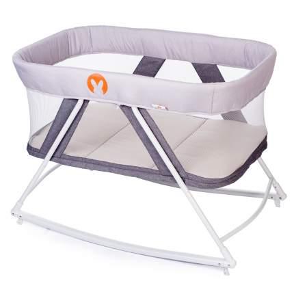 Кровать-колыбель Babyhit Rocking Crib Light grey