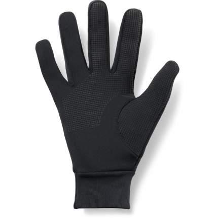 Мужские перчатки Under Armour Liner 2.0 1318546-001 2019, черный, SM (17,8-18,4)