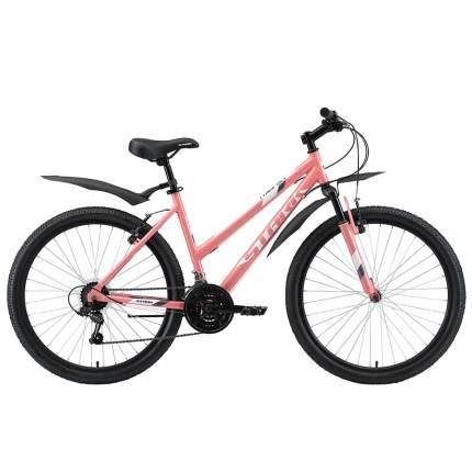 """Велосипед Stark Luna 26.1 V 2020 14.5"""" розовый/белый/серый"""