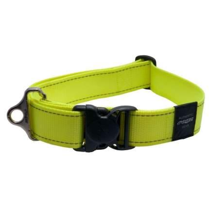 Ремень безопасности для собак Rogz Utility, желтый, ширина 45мм