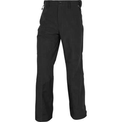 Спортивные брюки Сплав SoftShell, черный, 44/158-164 RU, 46/158-164 RU