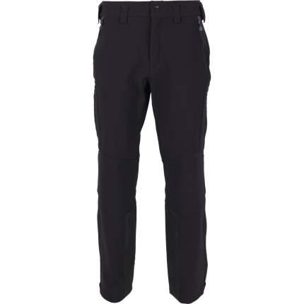 Спортивные брюки Сплав SoftShell Diamond, черный, 44/170-176 RU, 46/170-176 RU
