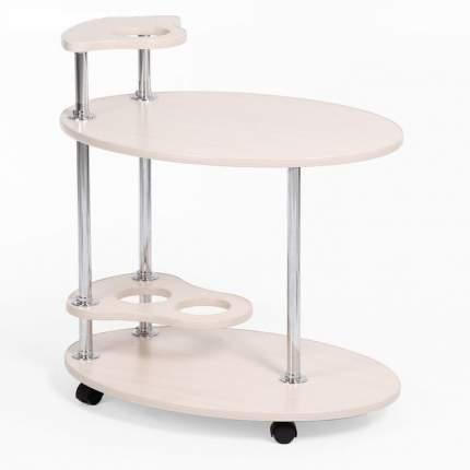 """Сервировочный столик """"Лилия"""", белый, 50 х 70 х 50 см"""